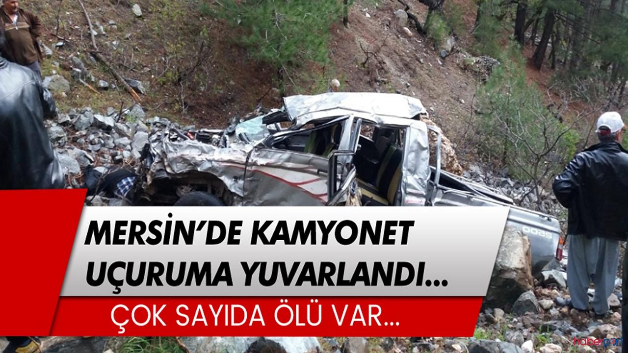 Mersin'de feci kaza! Biri çocuk 3 ölü
