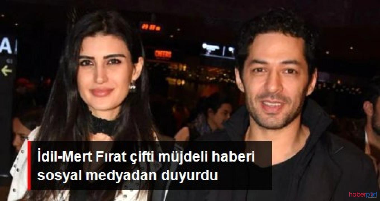 Mert-İdil Fırat Çifti'nin müjdeli haberi sosyal medyadan geldi