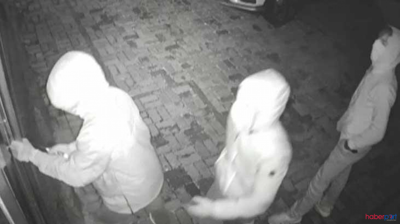Polisin kapıya geldiğini gören hırsız kendini vurdu