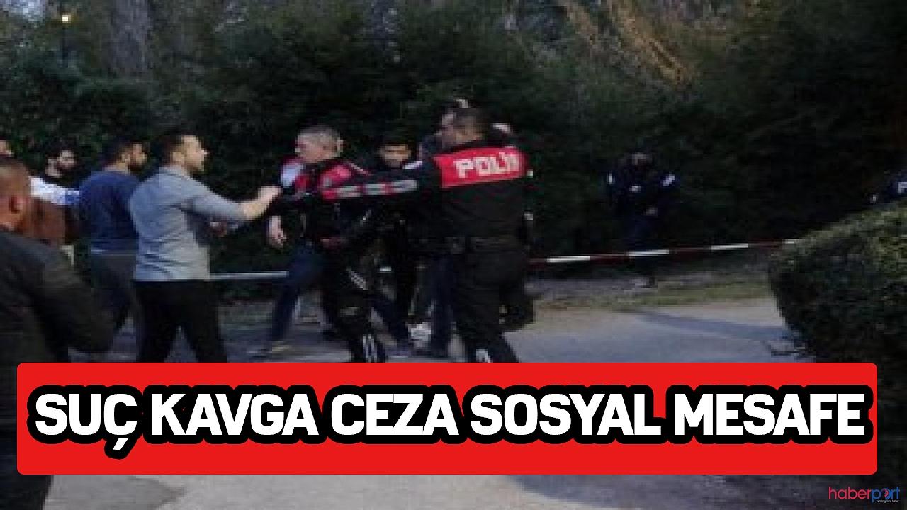 Suç kavga ceza sosyal mesafe Bitlis'te kavgaya karışan 7 kişiye sosyal mesafe kuralından ceza kesildi