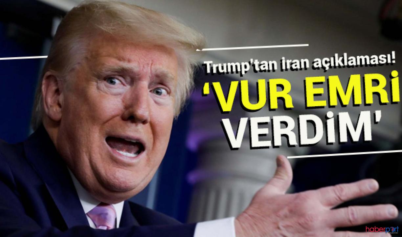 Trump, İran'a gözdağı vermişti! ABD'ye yanıt gecikmedi