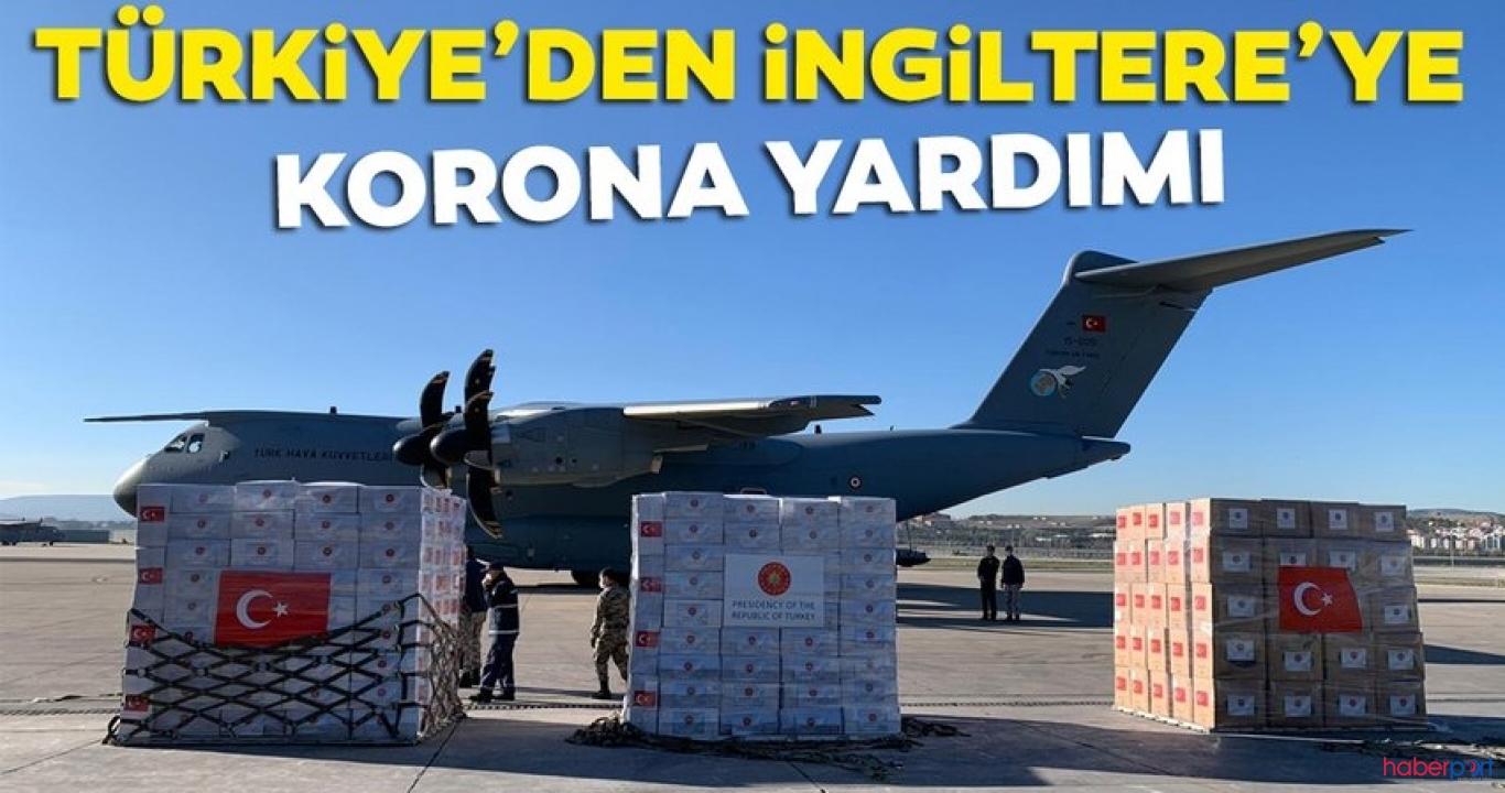 Türkiye'den bir destekte İngiltere'ye! Tıbbi malzeme taşıyan kargo uçağı yola çıktı