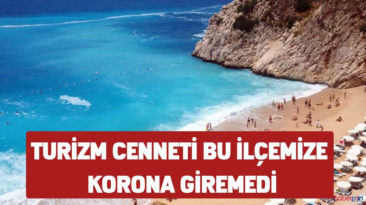 Türkiye'nin turizm cenneti o şehirde korona'ya rastlanılmadı!