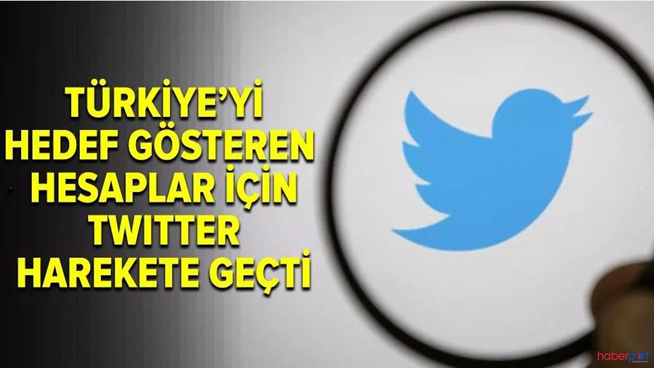 Twitter'dan Türkiye'ye destek! Türkiyeyi Hedef gösteren hesaplar silindi