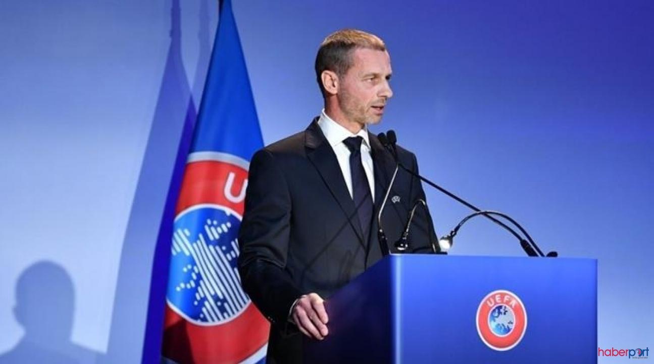 UEFA başkanından jet açıklama