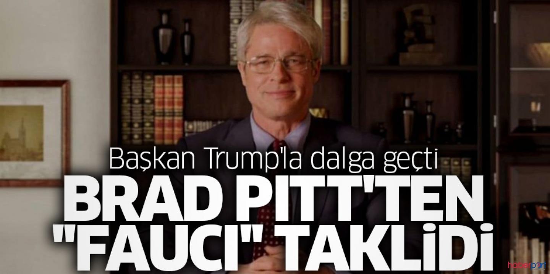 Ünlü oyuncu Brad Pitt, ABD Başkanı Trump'ı ti'ye aldı