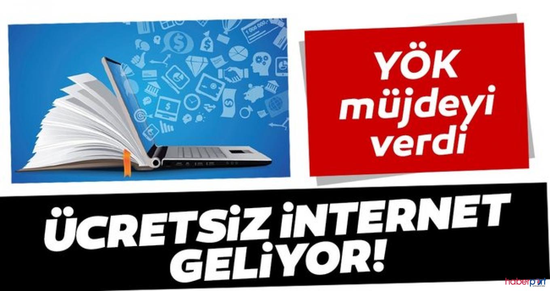 YÖK'ten Üniversite öğrenicilerine 6 GB ücretsiz internet