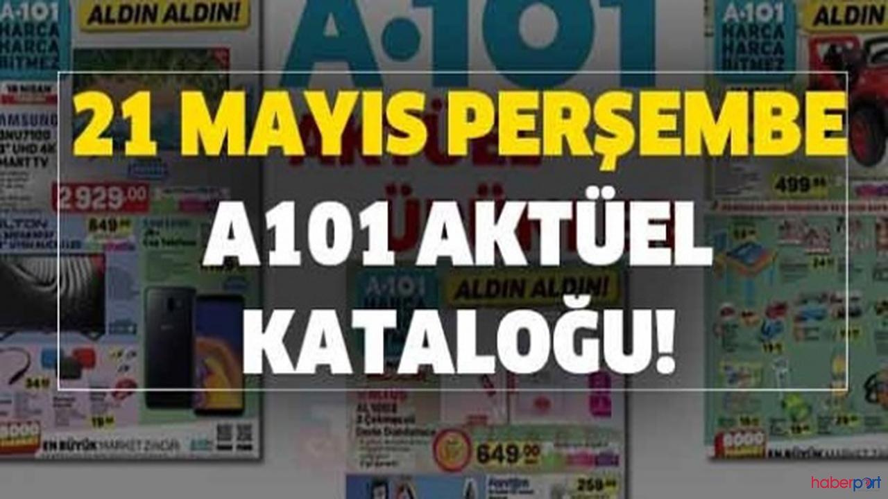 A101 Aktüel Ürünler Kataloğu Yayımlandı 21 mayıs 2020