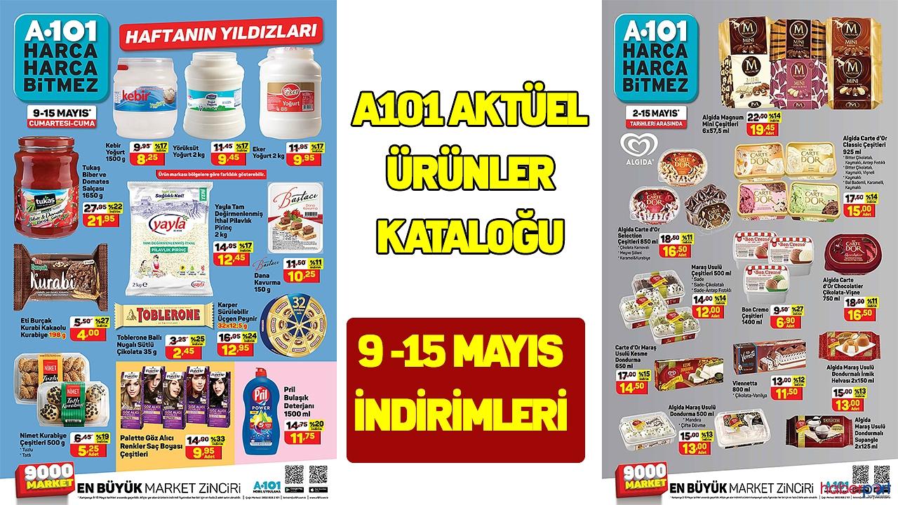 A101 Aktüel ürünler kataloğu yayımlandı 9- 15 Mayıs 2020