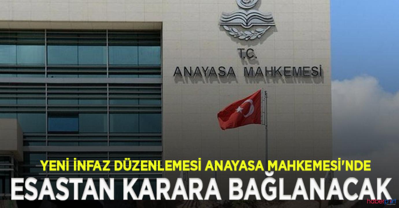Anayasa Mahkemesi, CHP'nin af yasasının iptal başvurusunun ilk incelemesini tamamladı