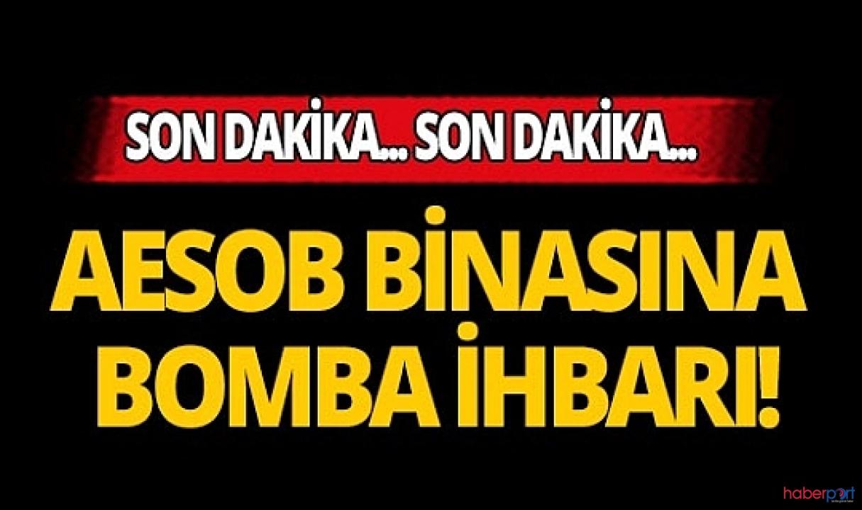 Antalya Esnaflar Odası binasında bomba alarmı! Ekipler incelemede