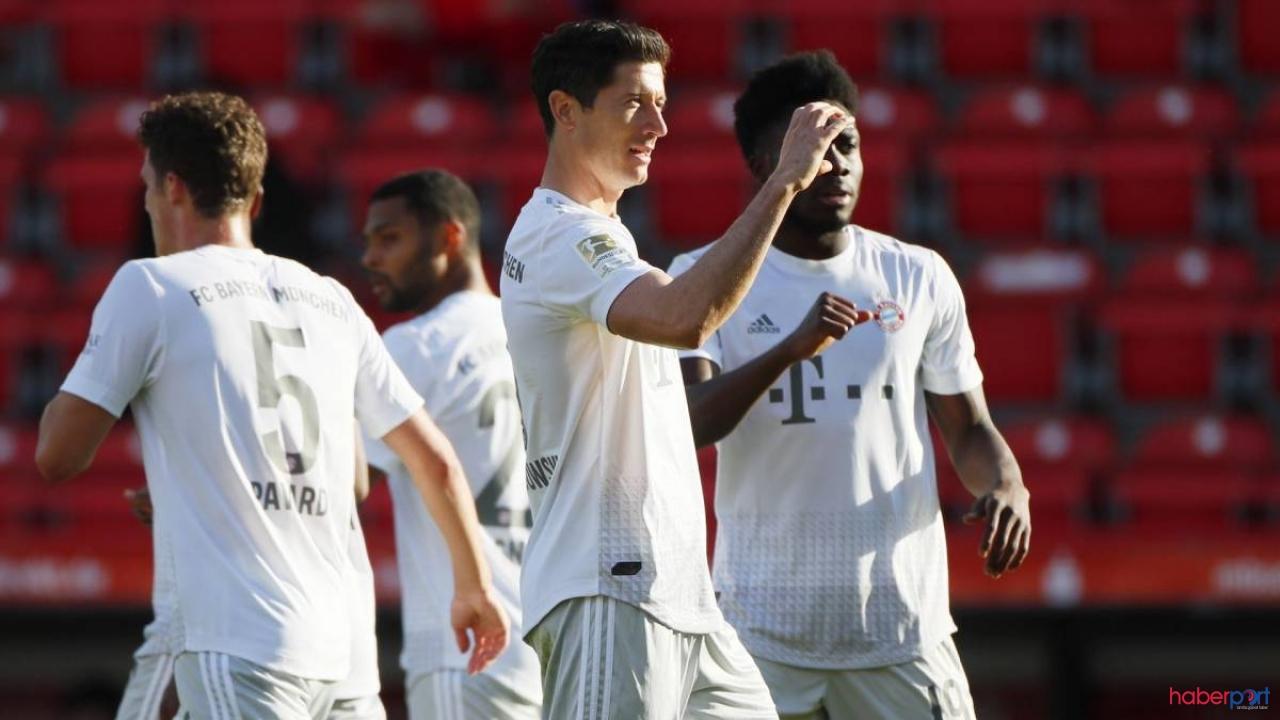 Bayern Münih kazanmayı bildi