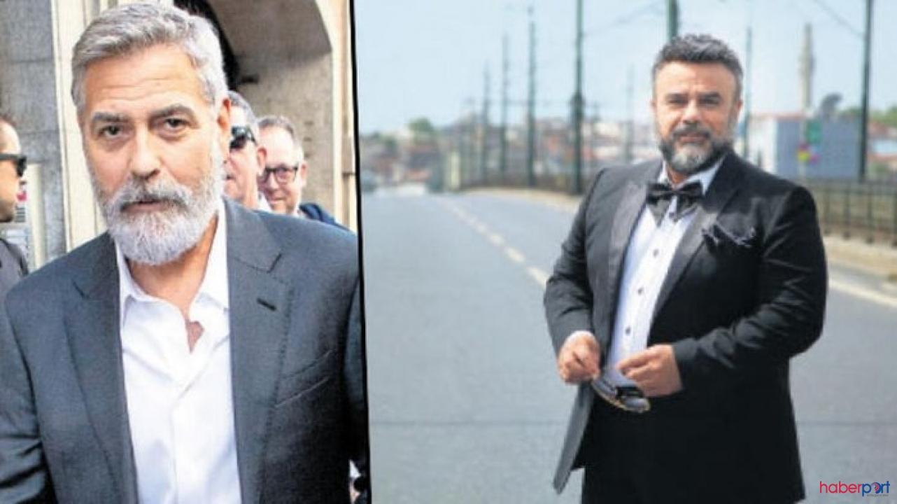 Bülent Serttaş yeni imajıyla kamera karşısında; George Clooney'e benzetildi