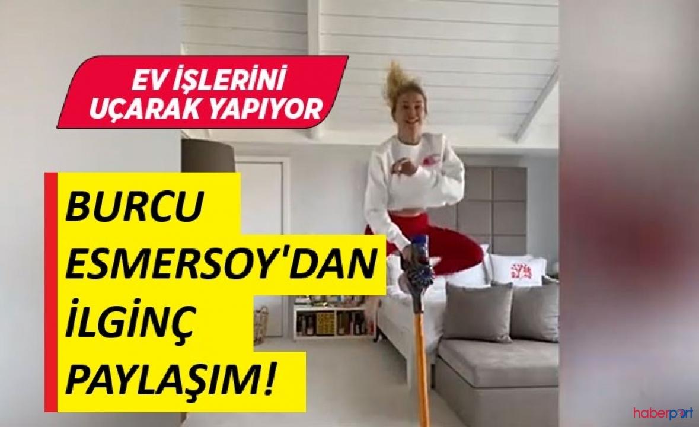 Burcu Esmersoy'un Tiktok videosu hem şaşırttı hem güldürdü