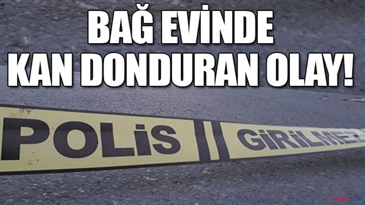 Bursa'da balta dehşeti! 1 ölü