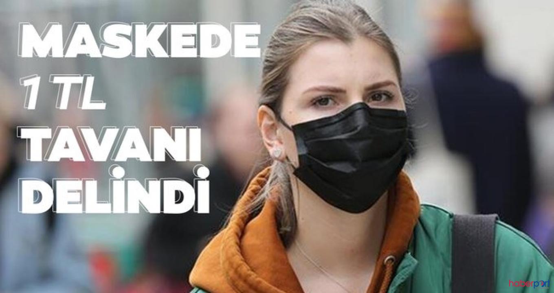 Cerrahi maske satışlarında konulan 1 TL'lik tavan fiyata uyulmuyor!