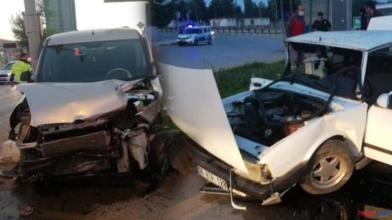Çorum'da trafik kazası geçiren 7 aylık hamile kadın bebeğini kaybetti