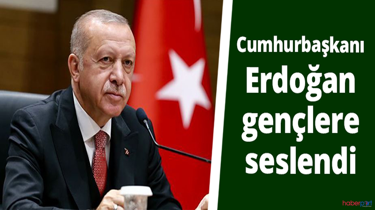 Cumhurbaşkanı Erdoğan 19 Mayıs sebebiyle gençlerle buluştu