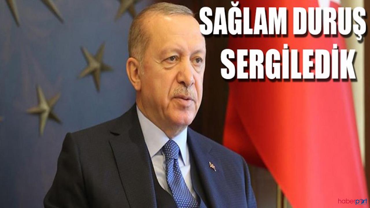 Cumhurbaşkanı Erdoğan:'Normalleşmede riske girmeyiz'