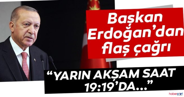 Cumhurbaşkanı Erdoğan, 19 Mayıs'ta tüm Türkiye'yi İstiklal Marşı okumaya davet etti