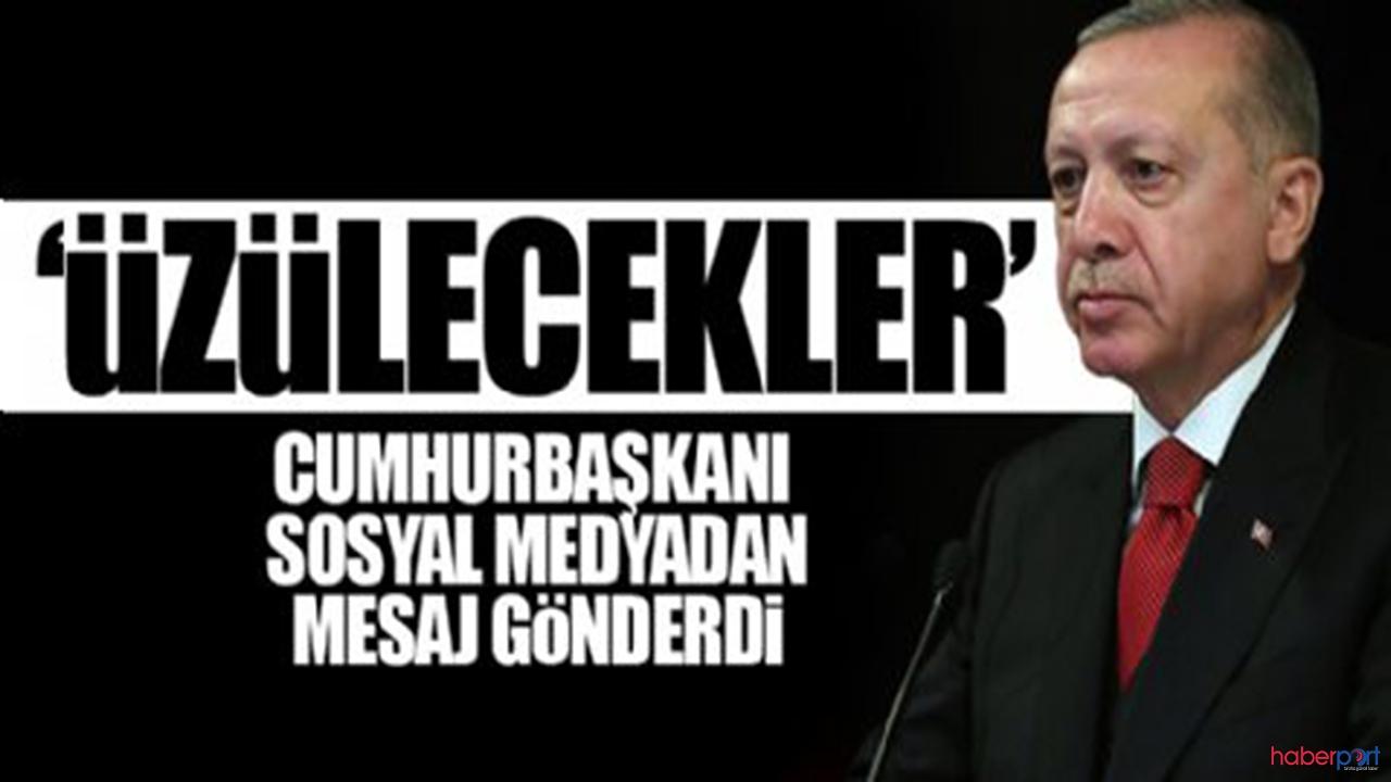 """Cumhurbaşkanı:""""Türkiye'nin tökezlemesini bekleyenleri üzeceğiz"""""""