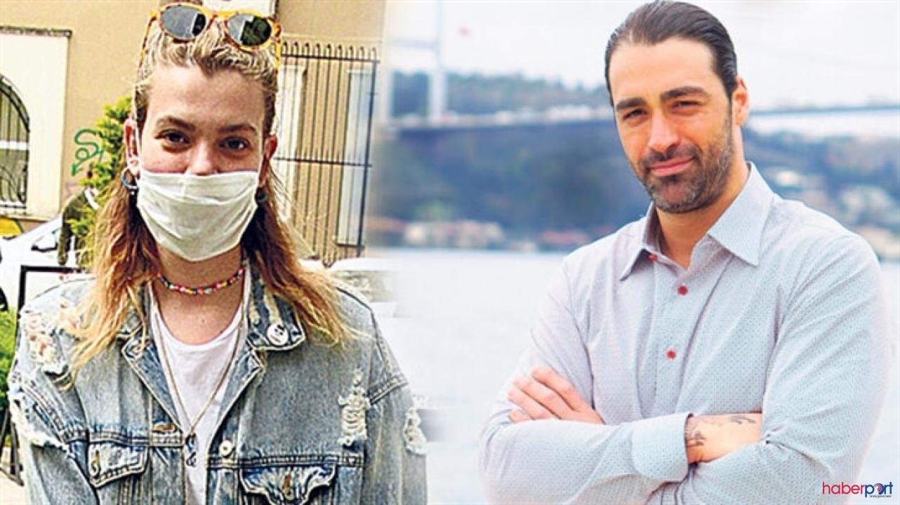 Derya Şensoy objektiflere yakalndı: Sarp Levendoğlu'nu çok özlemiş