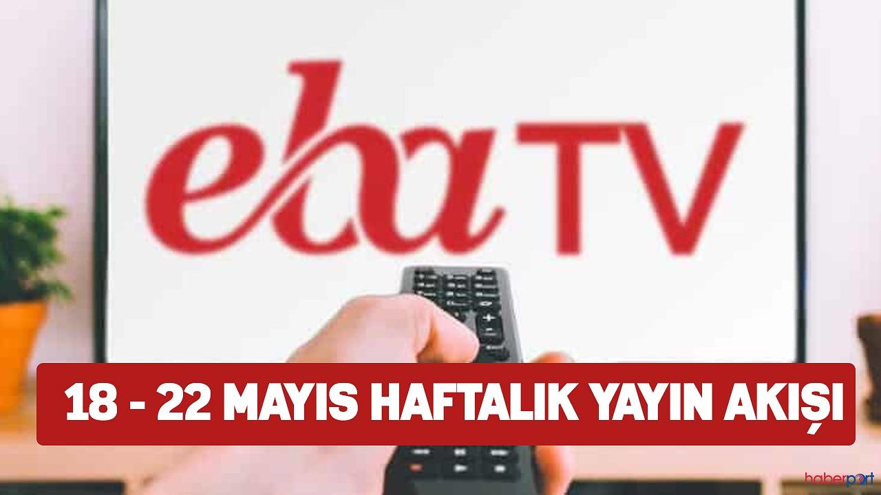 EBA TV ilkokul, ortaokul ve lise dersleri ve tekrar dersleri 20 Mayıs Çarşamba