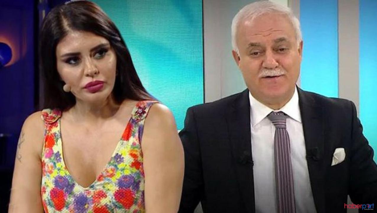 Ebru Polat'tan canlı yayında Nihat Hatipoğlu'na özel soru!