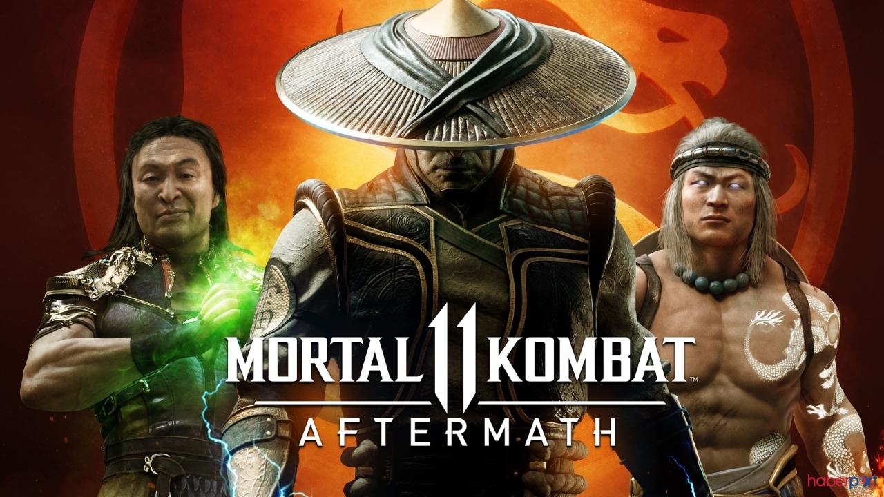 Efsane geri dönüyor Mortal Kombat 11: Aftermath tanıtıldı, RoboCop Geliyor