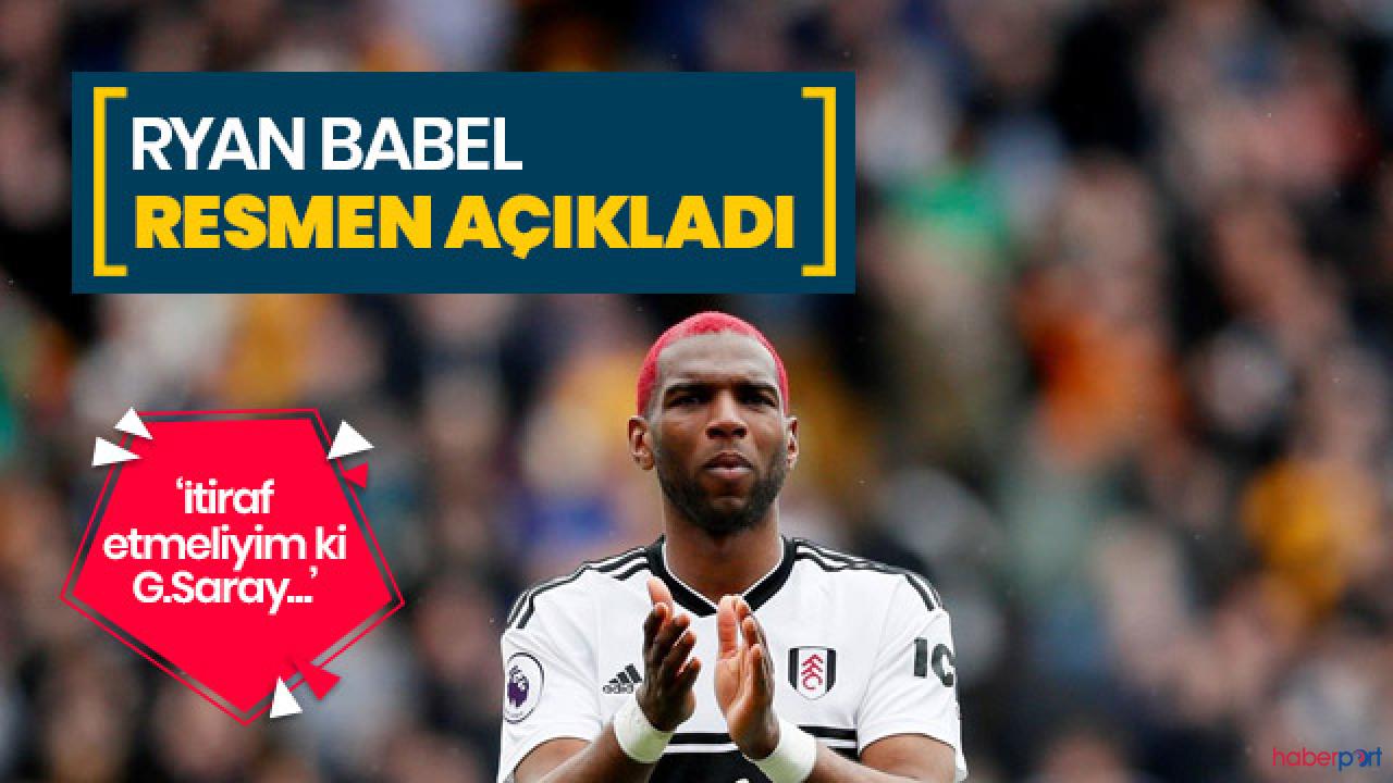 Galatasaray'ın Hollandalı oyuncusundan itiraf; Gerçek Babel'i gösteremedim!