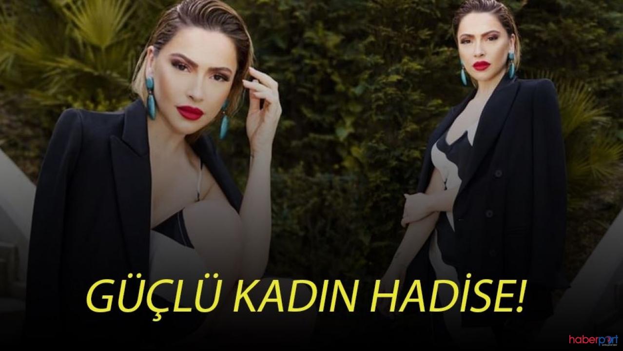 Hadise'nin 'güçlü kadın' paylaşımı imrendirdi!