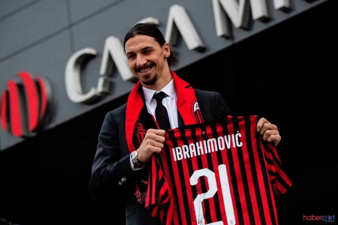 İbrahimoviç için transfer açıklaması! Milan defteri kapandı
