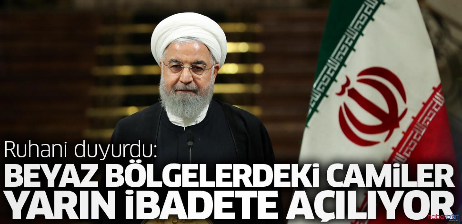 İran, beyaz bölgede bulunan camileri ibadete açıyor