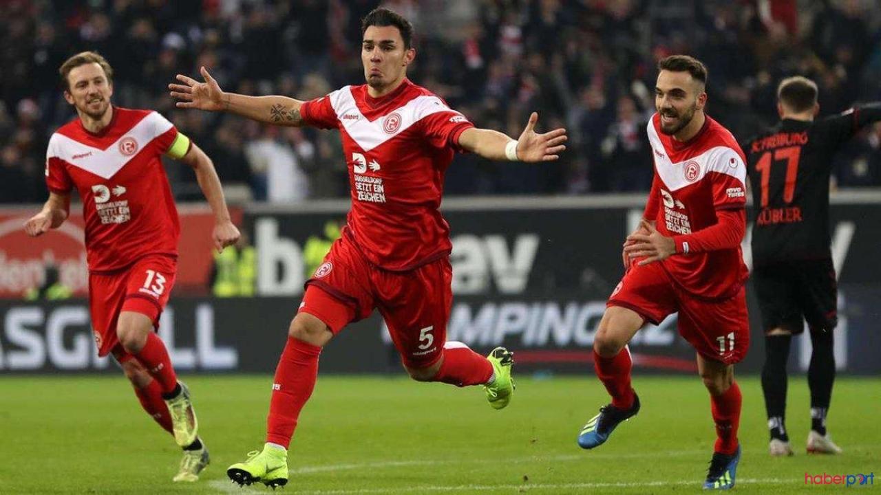 Kaan Ayhan ve Kenan Karaman forma giydiği Düsseldorf kazanamadı