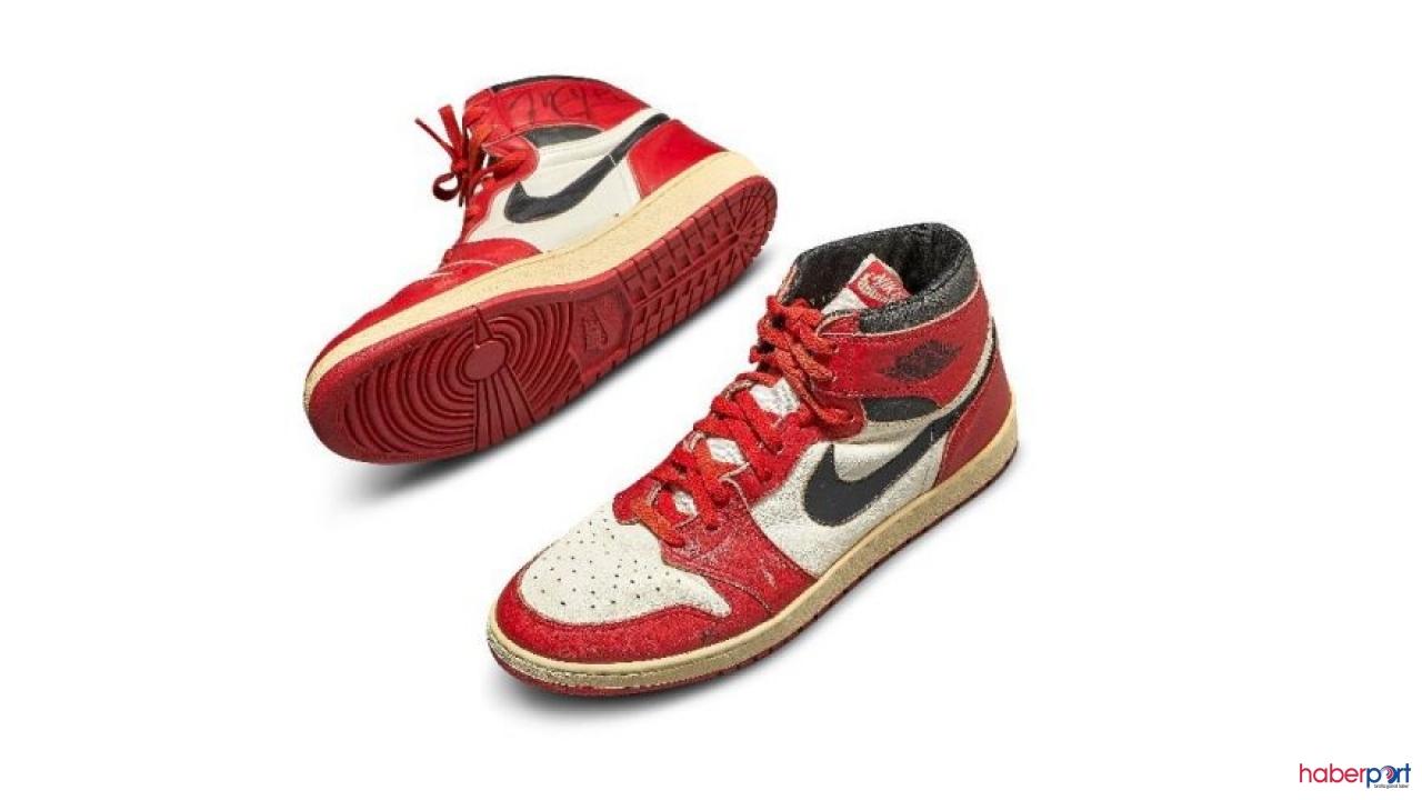 Kolleksiyoner Jordan Geller, Michael Jordan'ın ayakkabılarına servet ödedi