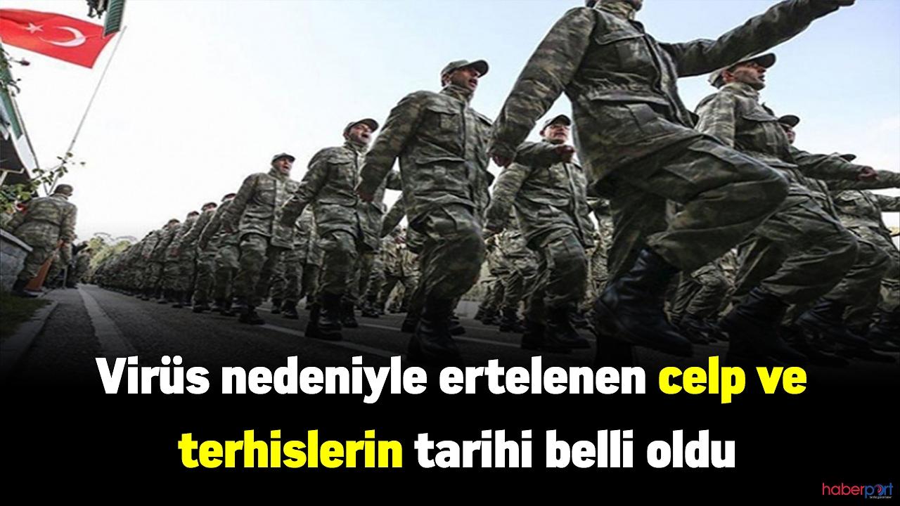 Milli Savunma Bakanlığı celp ve terhisler için düğmeye bastı