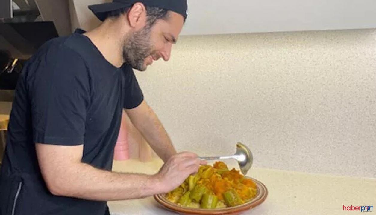 Murat Yıldırım'ın iftar paylaşımı; Moroccan Kuskus'u