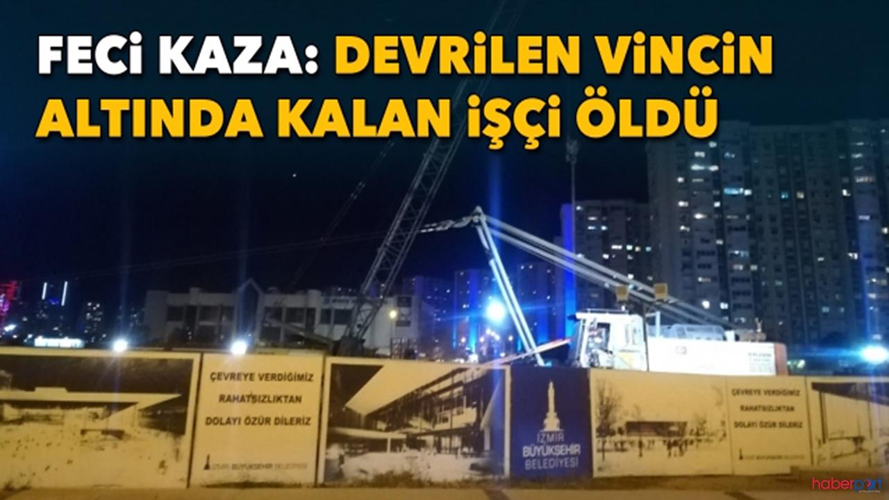 Opera Binası'nın inşaatında feci ölüm! vincin altında kalan işçi öldü