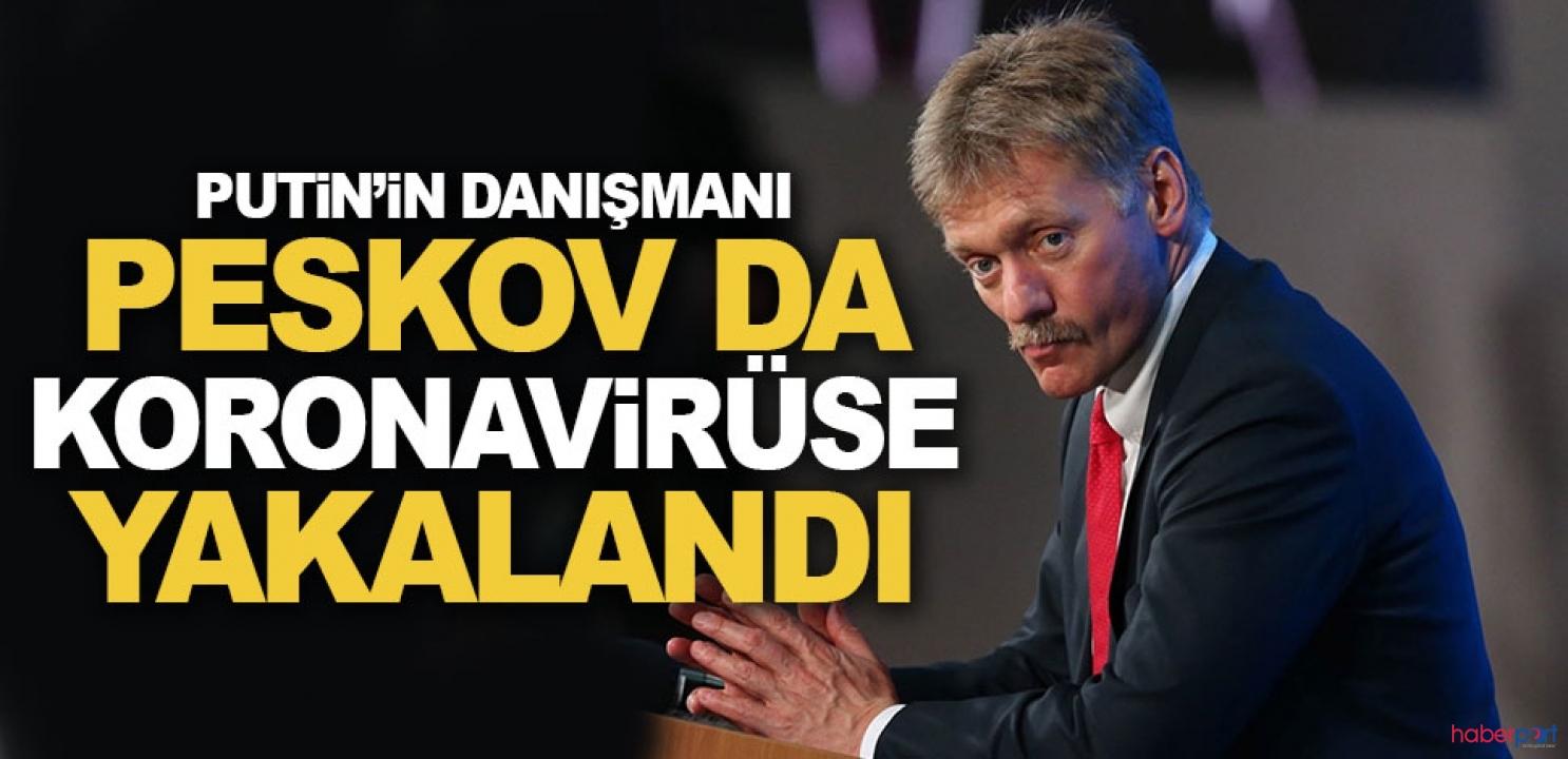 Putin'in basın danışmanı Peskov, koronavirüse yakalandı!