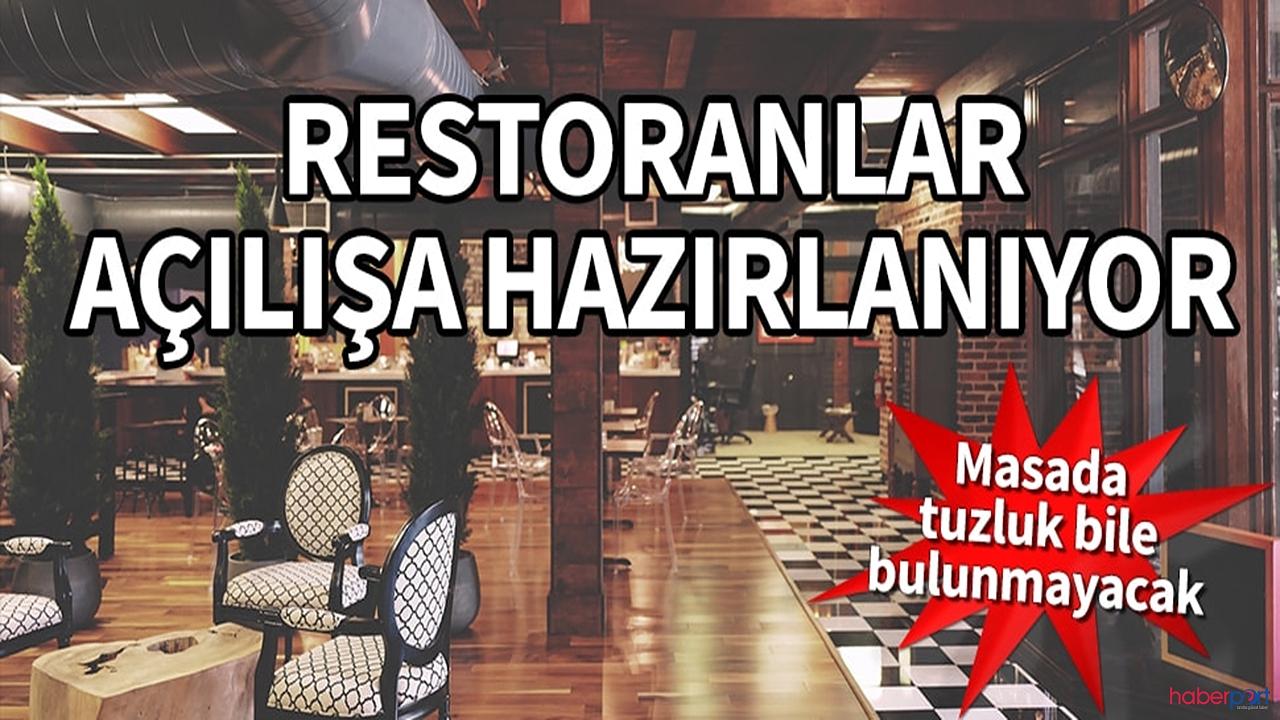 Restoranlara açılmadan önce korona ayarı! İşte alınacak tedbirler
