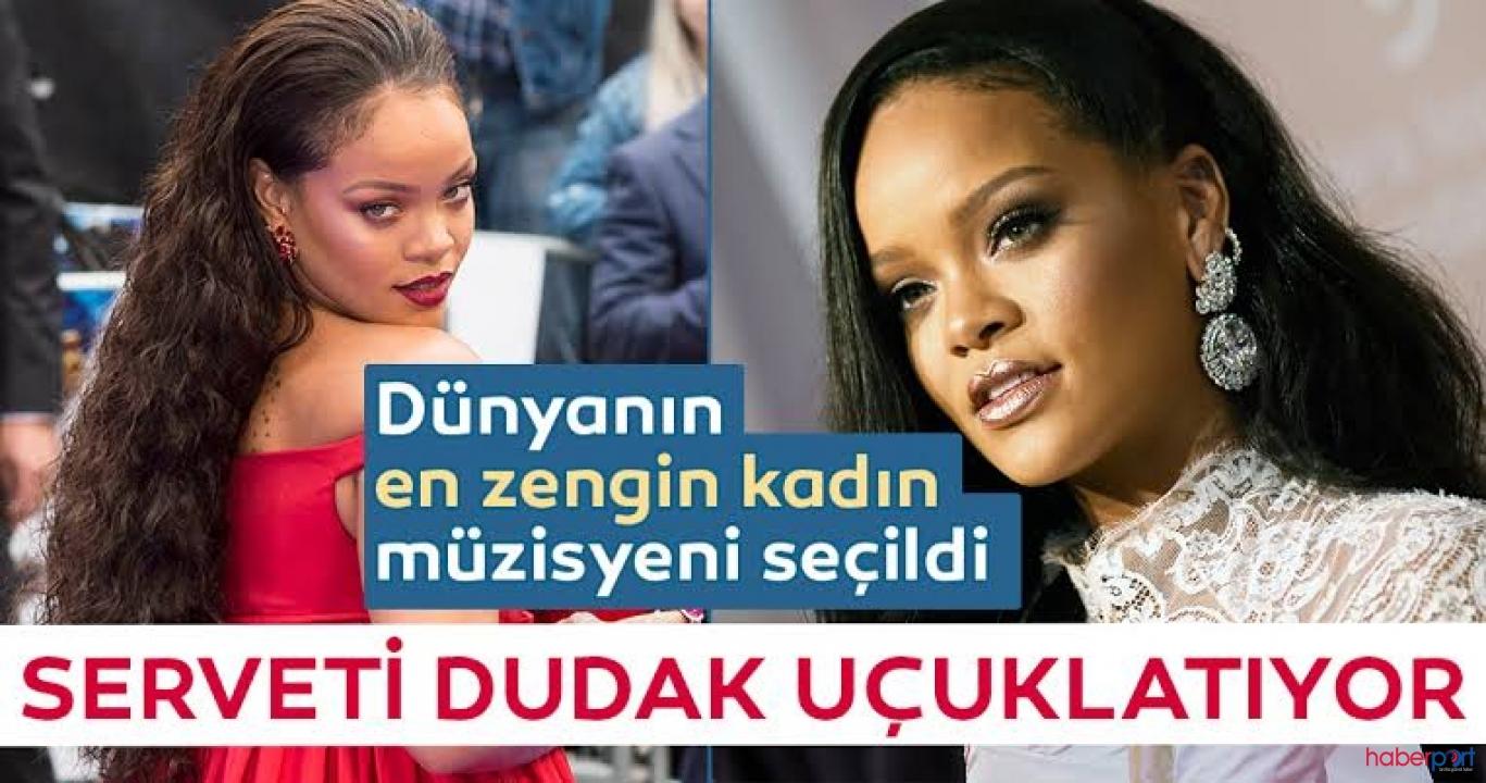 Rihanna'nın serveti dudak uçuklattı; O şimdi 'en zenginler' listesinde