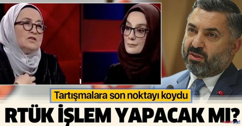 RTÜK'ten Sevda Noyan'ın söylemleri hakkında flaş açıklama!