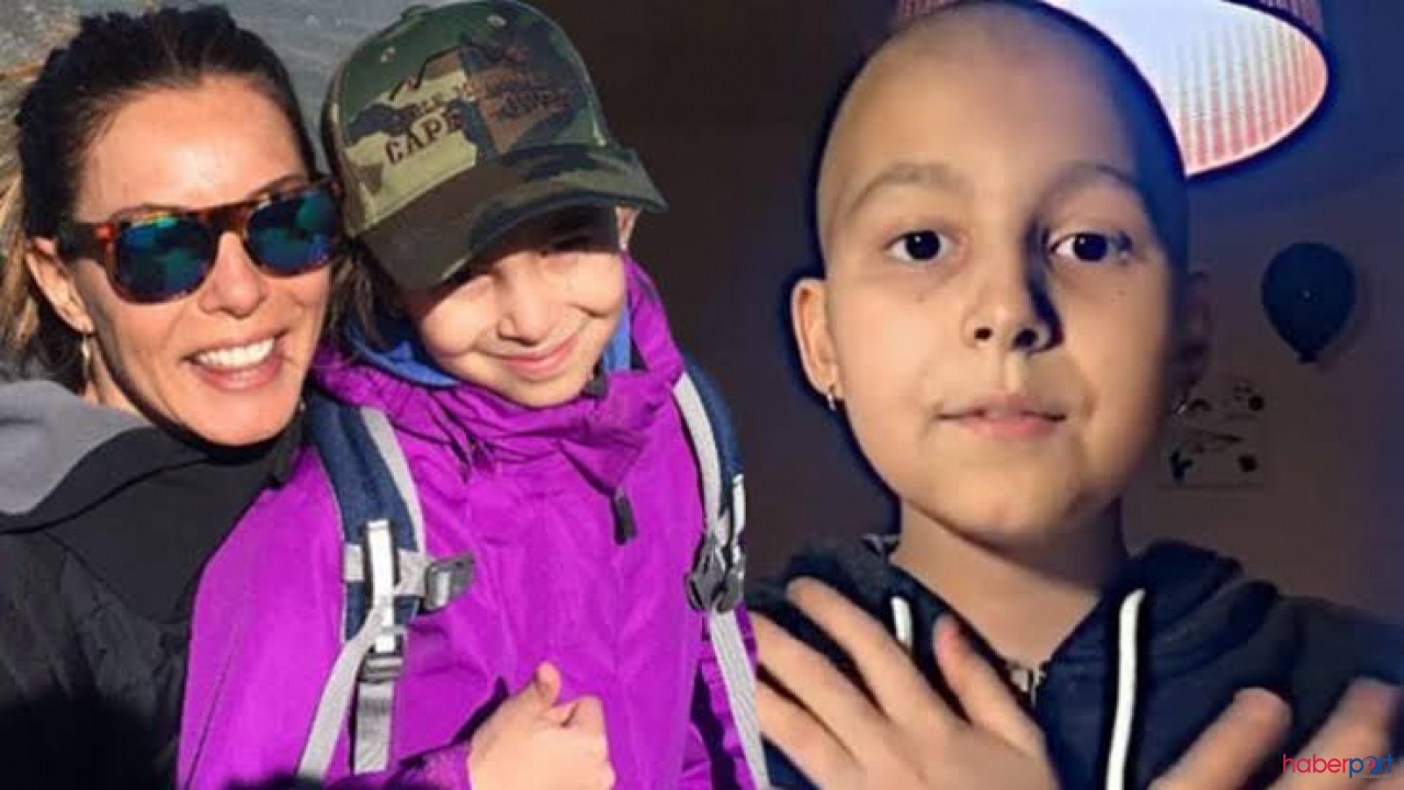 Sinem Güven'in kanser olan kızından iyi haber; tedavisi bitiyor!