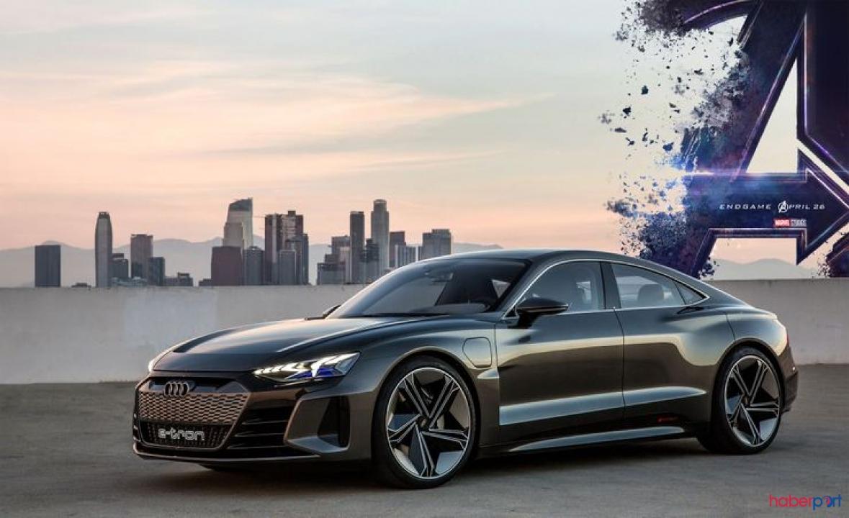Tony Stark'ın kullandığı 2021 Audi e-tron GT yolda görüntülendi!
