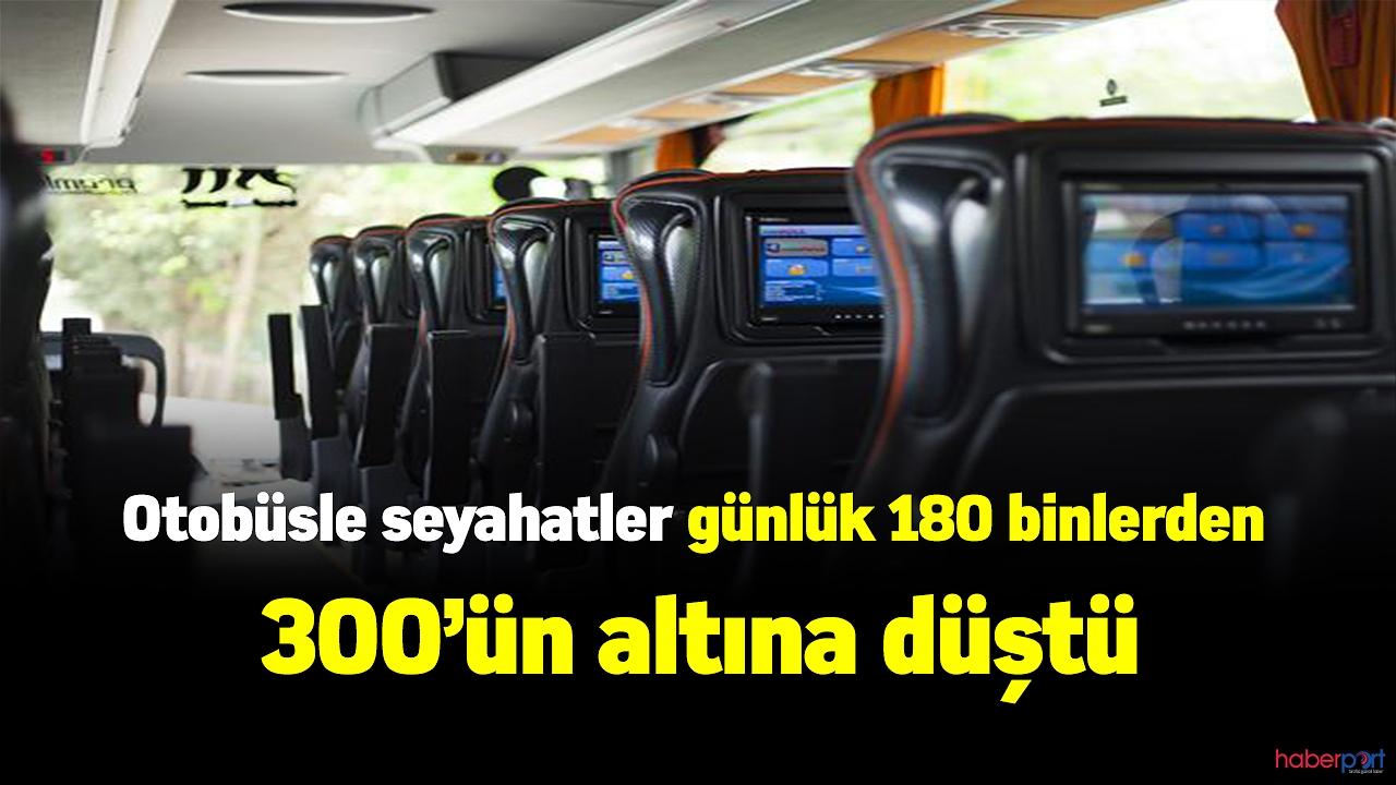 Ulaştırma bakanlığı otobüsle yolculuk yapan vatandaş sayısında ki düşüşü açıkladı