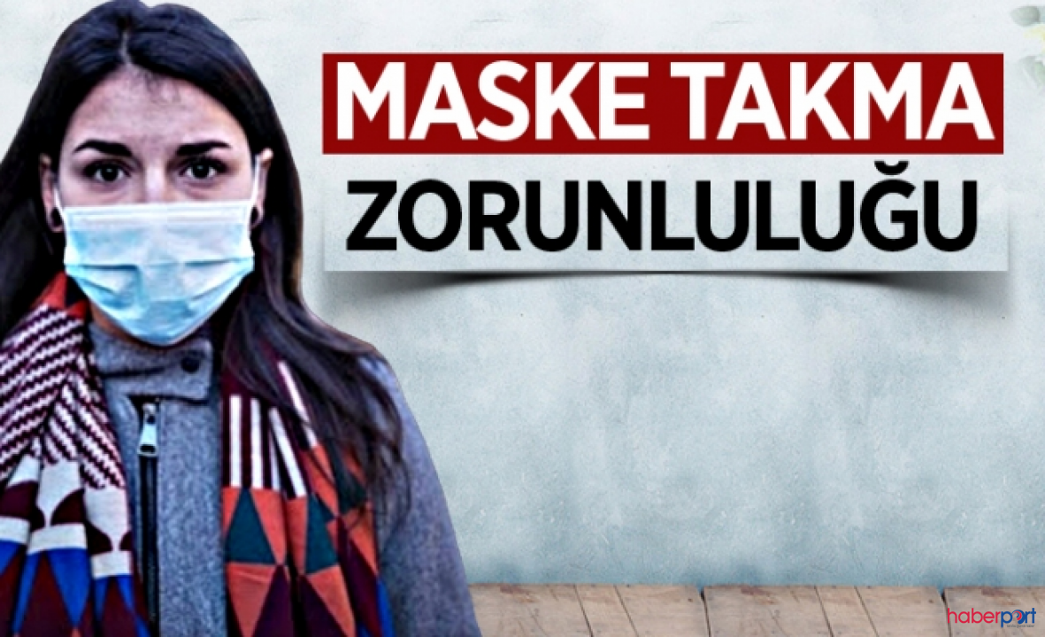 Uşak ve Muğla'da maske takmak vatandaşlara mecburi tutuldu!