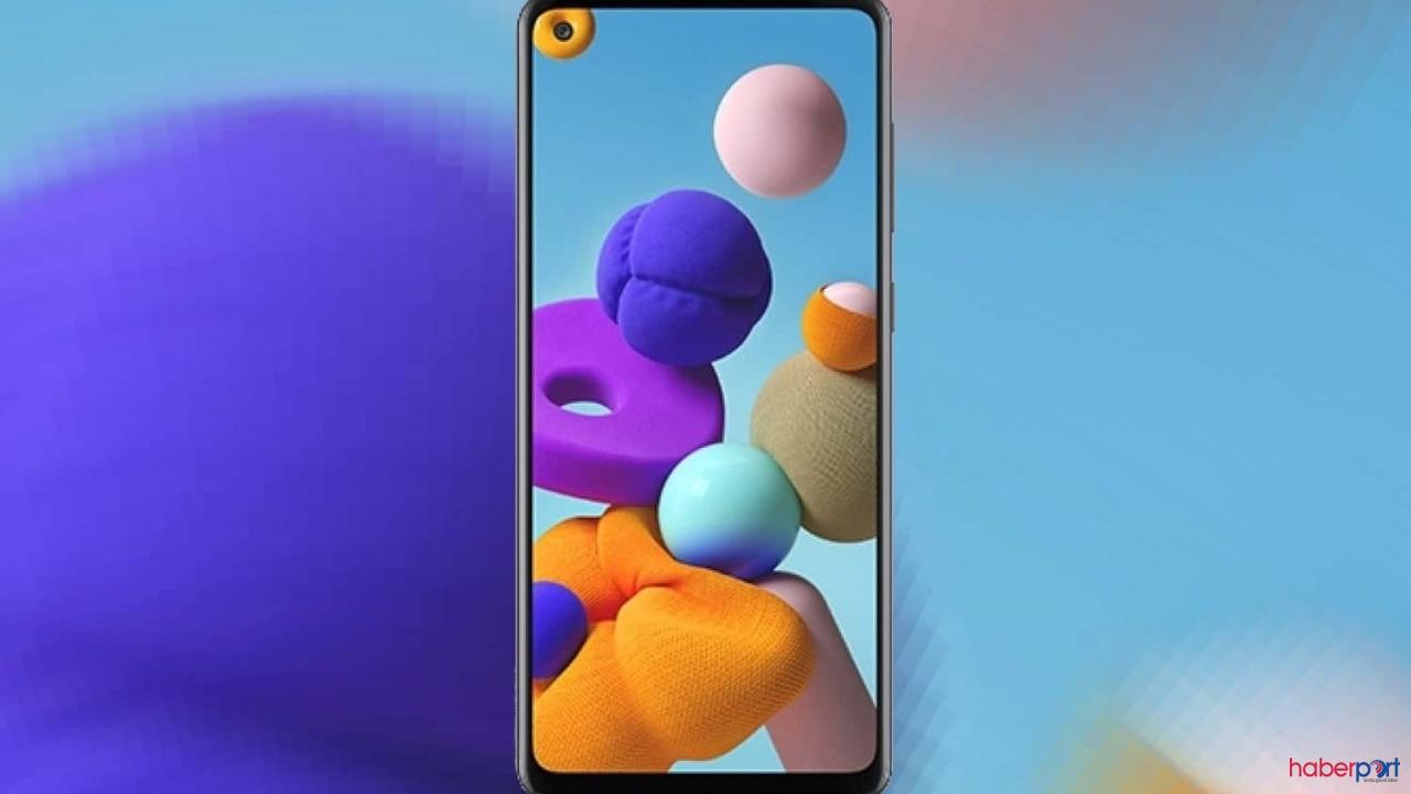 Uygun fiyatlı Samsung Galaxy A21s tasarım görselleri paylaşıldı.
