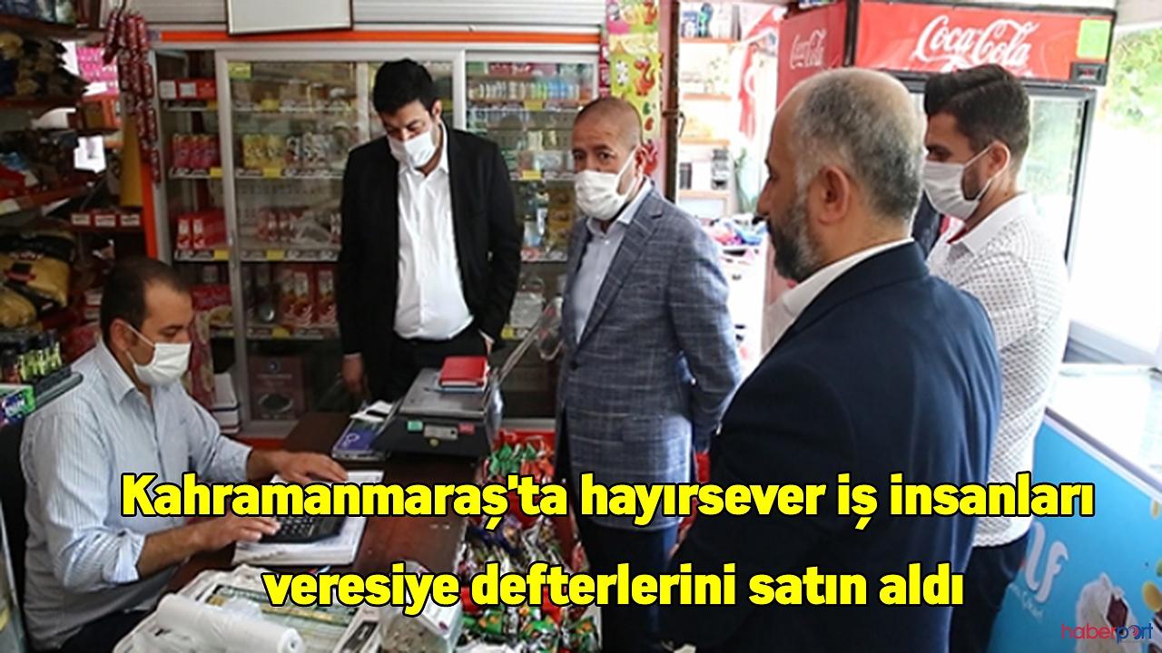 Veresiye defteri satın alma geleneğine MÜSİAD Kahramanmaraş şubesi de katıldı