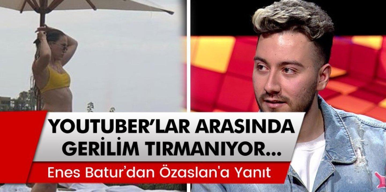 Enes Batur 'dan Duygu Özaslan'a Yanıt!