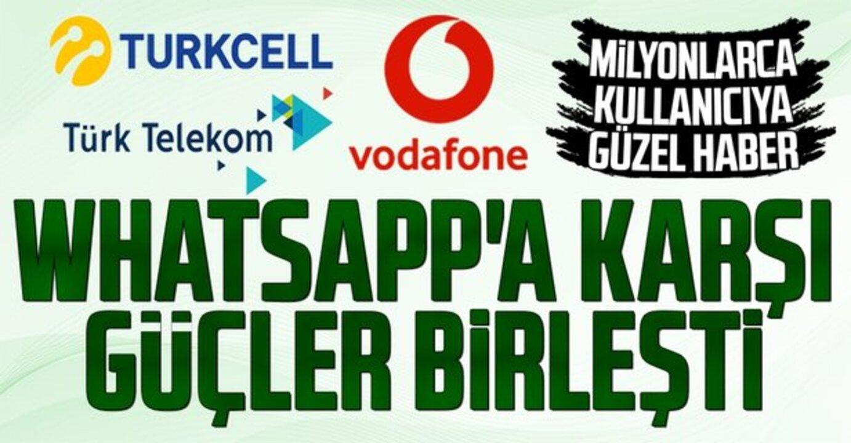 Turkcell, Türk Telekom ve Vodafone BİP ve Yaay konusunda işbirliği yaptı!
